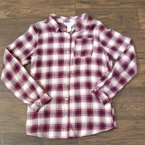 Forever 21 Flannel Shirt Size 13/14